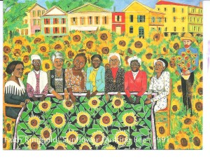 "Faith Ringgold's ""The Sunflowers Quilting Bee at Arles"" and Madam C. J. Walker"